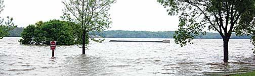 Harsha Lake Dam William h Harsha Lake at East