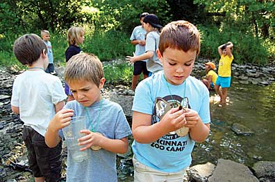 Cincinnati Nature Center Summer Camps