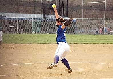 Clermont Northeastern pitcher Emily Anderson is one of the best pitchers in the state.