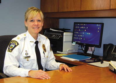 Miami Township Police Chief Sue Madsen