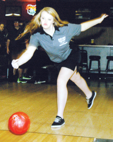 Glen Este's Haley Vogelgesang is one of four senior bowlers for the Lady Trojans.