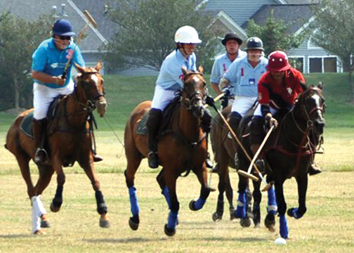 The Cincinnati Polo Club kicks off their regular season this weekend, July 5, with a match against the Columbus Polo Club at Wilshire Farms in Goshen.