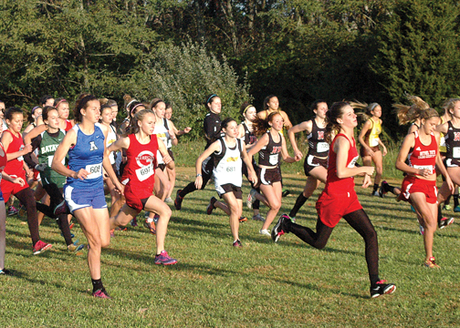 The New Richmond boys and the Bethel-Tate girls won the Early Bird Run on Aug. 20 at Washington Township Park.