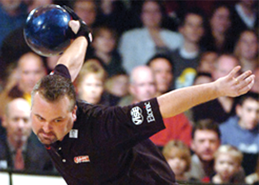 Himmler, above, is one of the professional bowlers who will be on hand at the Pro-Am.