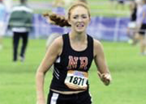 New Richmond's Claire Burns finished in 23rd place despite agonizing shin splints.