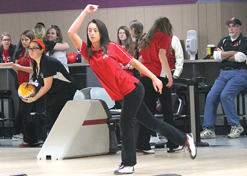 The Goshen girls bowling team returns three members who competed in the district tournament last year.