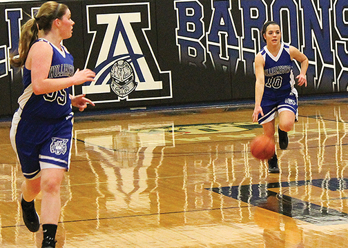 Young Lady Wildcats adjusting to new style and overachieving