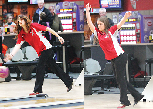 The Goshen girls bowling team will compete in the district tournament on Thursday, Feb. 26.