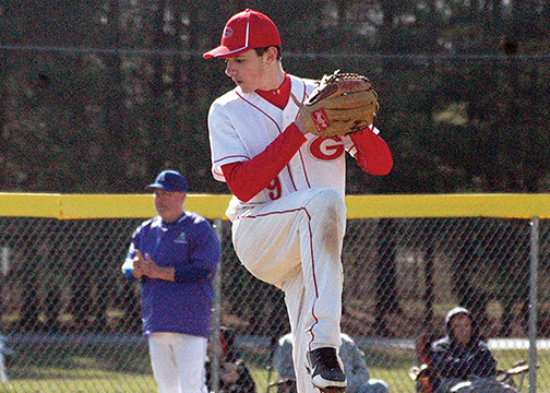 Goshen pitcher Jesse Peters was named the Southern Buckeye Conference American Division Player of the Year.