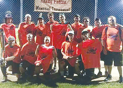 "Winning this year's Randy Fulton Memorial Softball Tournament held July 11-12 was the team by the name of ""The Misfits."""