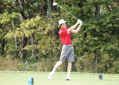 Bethel-Tate High School's Mitchell McElfresh was one of 15 representatives from Clermont County courses to play in the Metropolitan Amateur Championship.