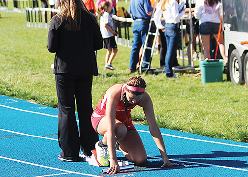 Rule changes in track and field and cross country will be implemented in 2016, including changes to starting block inspection.