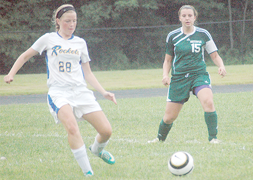Lexie Walker, a senior midfielder, is one of four senior leaders on the Clermont Northeastern defense. (File photo)