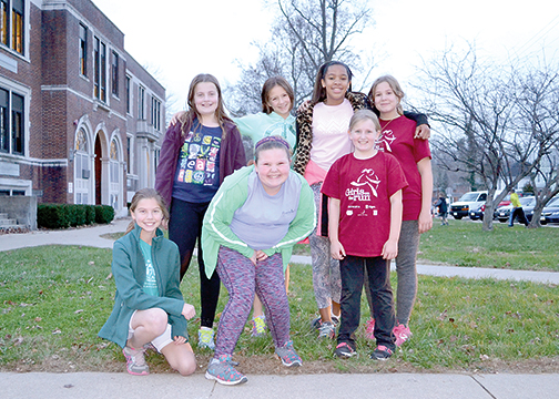 Members of the Batavia team of Girls on the Run get ready for practice on Nov. 17 at Batavia Elementary School. The team joined nearly 3,000 area girls and their family members Nov. 21 for the Girls on the Run Greater Cincinnati 5K.
