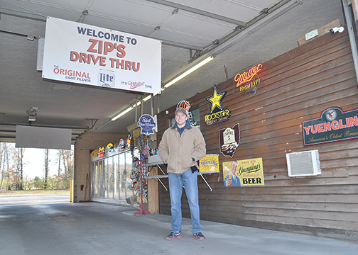 Kyle Diehl is the co-owner of Zip's Drive-Thru, which opened Oct. 15, 2015, at 1579 state Route 28 in Goshen Township.