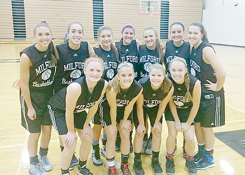 The Milford girls' basketball team will travel to Youngstown for the Fourth Annual Hope Classic High School Basketball Showcase.