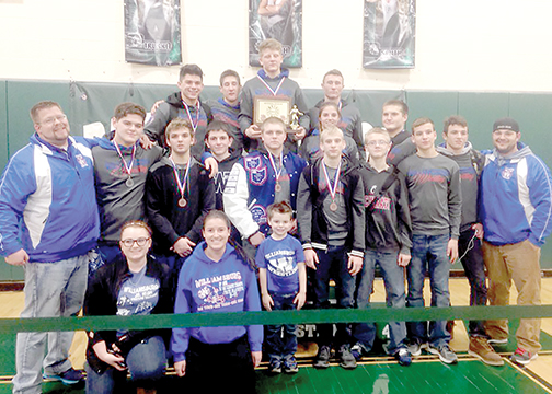 The Williamsburg Wildcats finished second overall, but first in the Southern Buckeye Conference National Division, earning their first conference title since 2006. They had 12 placers and one conference champion on Feb. 5.