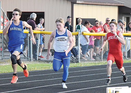 Local track and field teams from seven Clermont County schools competed at the Western Brown Invitational last week.