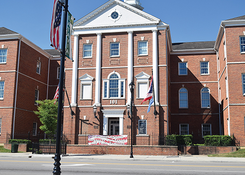 County officials held a public hearing for the 2017 tax budget on June 22, 2016 at the Clermont County Administration Building, pictured, located at 101 E. Main St. in Batavia.