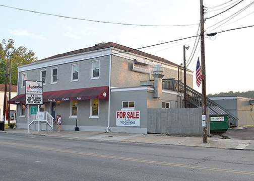The owners of The Landing Restaurant and Bar, located in the village of New Richmond, are selling the business after purchasing it last July.
