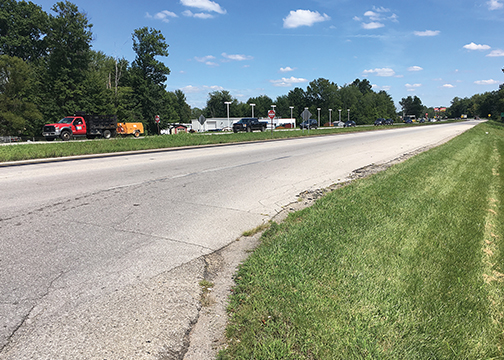 Construction to add a new third lane of travel to eastbound state Route 32 in the Eastgate area, pictured, is set to begin in spring 2018.