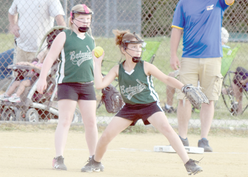 The Batavia Lady Dawgs are one of several youth softball teams preparing for their end of season tournaments.