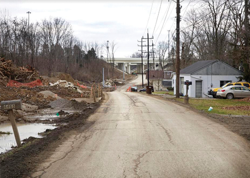 Construction of the Aicholtz Road connector project is nearly complete, and officials from the Clermont County Engineer's Office are recommending that some of the addresses in the affected area be changed. Photo provided.