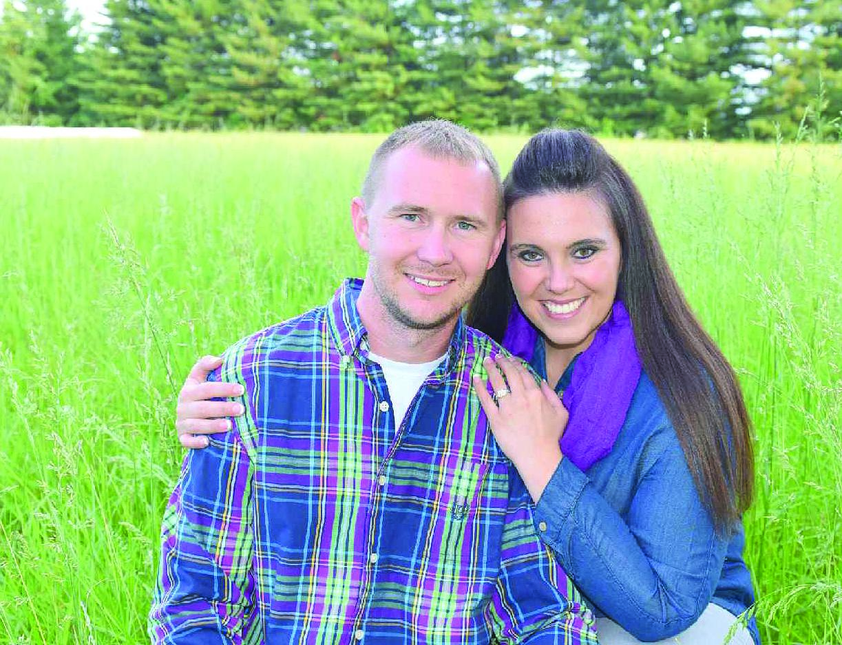 Richard Herbolt and Kayla Shipley, pictured, will be married on Sept. 16.