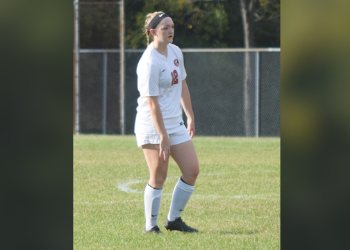 UC Clermont's Samantha Gardner was one of several Lady Cougars who improved from the beginning of the season, according to head coach Blaine Callahan.