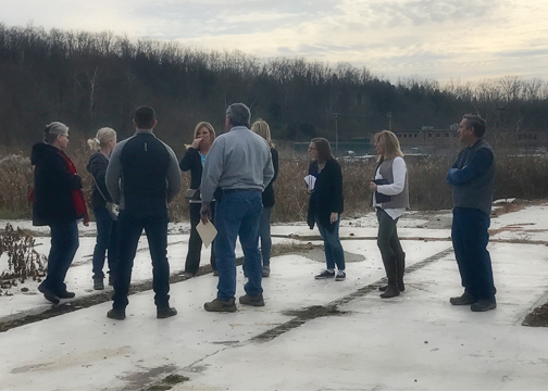 The Clermont County Commissioners named Clermont Animal Compassion, Advocacy, Rescue and Education (CARE) as the new operator of the county animal shelter during their regular meeting on Nov. 29. Pictured are some of the nonprofit's leaders during their walkthrough of the facility with county representatives on Dec. 4, 2017.